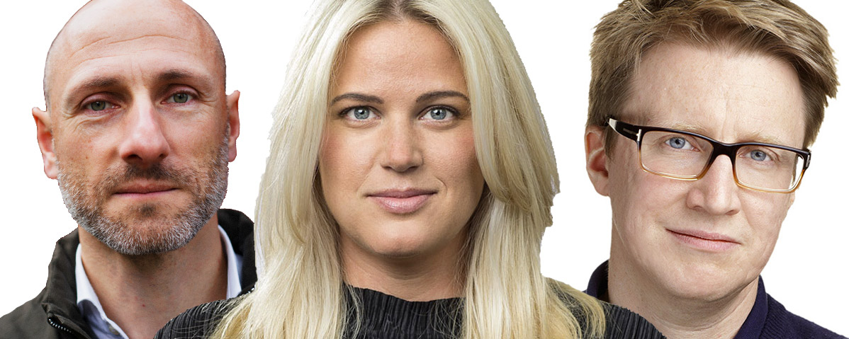 Trendfrukost 2018 –Paul, Amanda och Johan