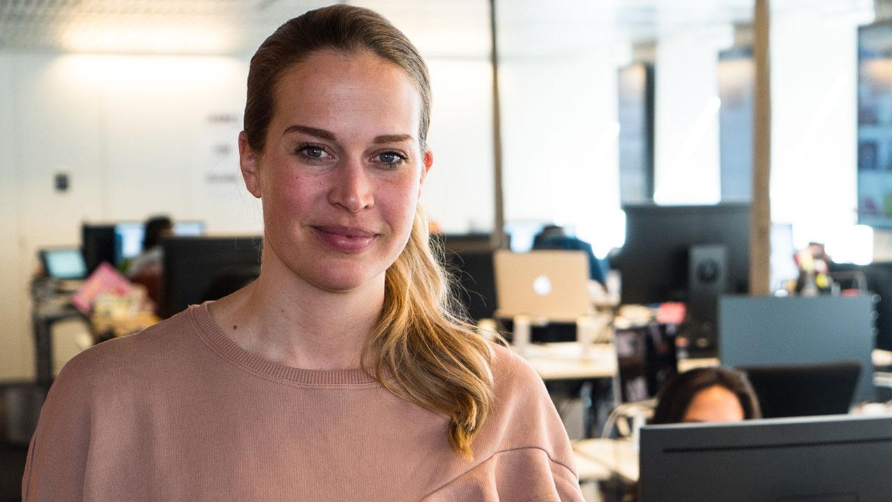 Jenny Holmqvist digital redaktionschef Aller media