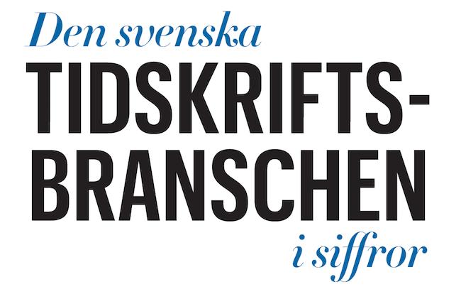 Den svenska tidskriftsbranschen i siffror