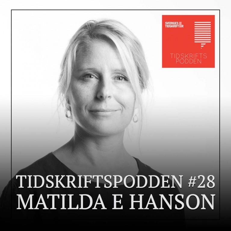 Matilda E Hanson DN Lördag Tidskriftspodden