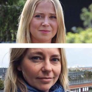 Annika Åberg och Annika R Hermanrud