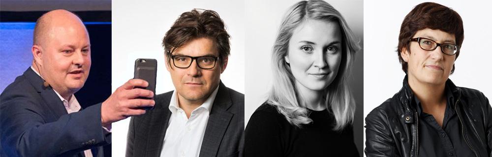 Thomas Mattsson, Jan Helin, Irena Pozar, Helle Klein