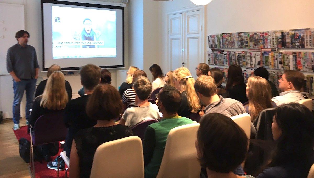 Thomas Arnroth föreläser på Sveriges tidskrifter