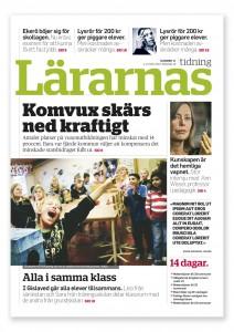 Lärarnas tidning omslag