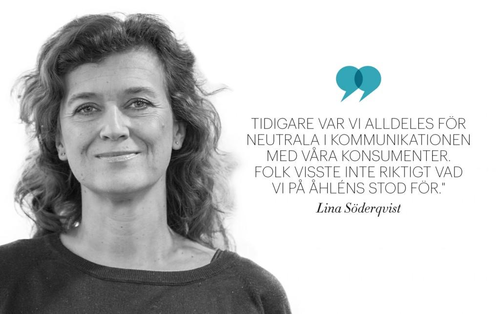 Lisa Söderqvist, Åhléns