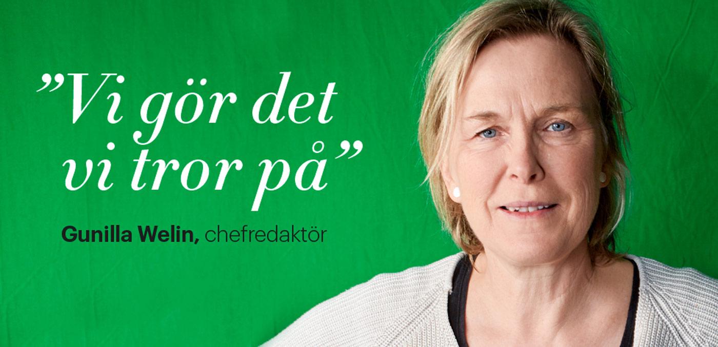 Gunilla Welin, chefredaktör Kloka Hem