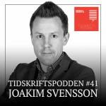 Joakim Svensson, Travronden