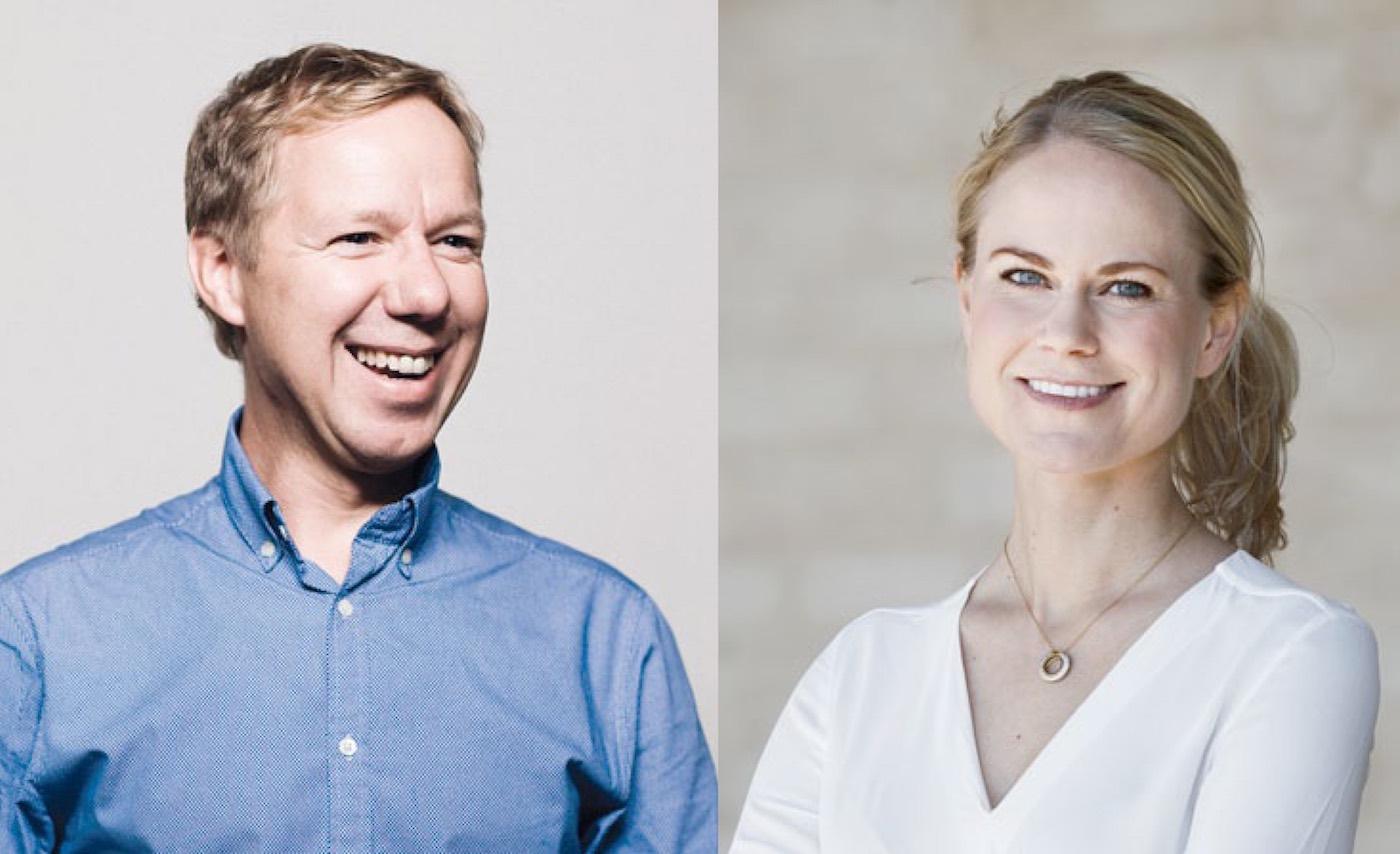 Patrik Hadenius och Camilla Björkman leder Tidskriftsdagen