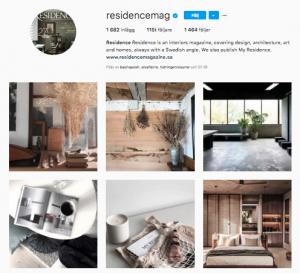 Residence på Instagram