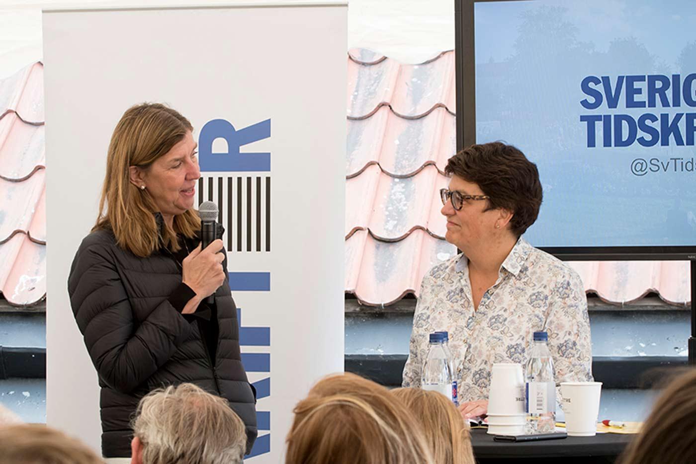 Kerstin Neld och Helle Klein