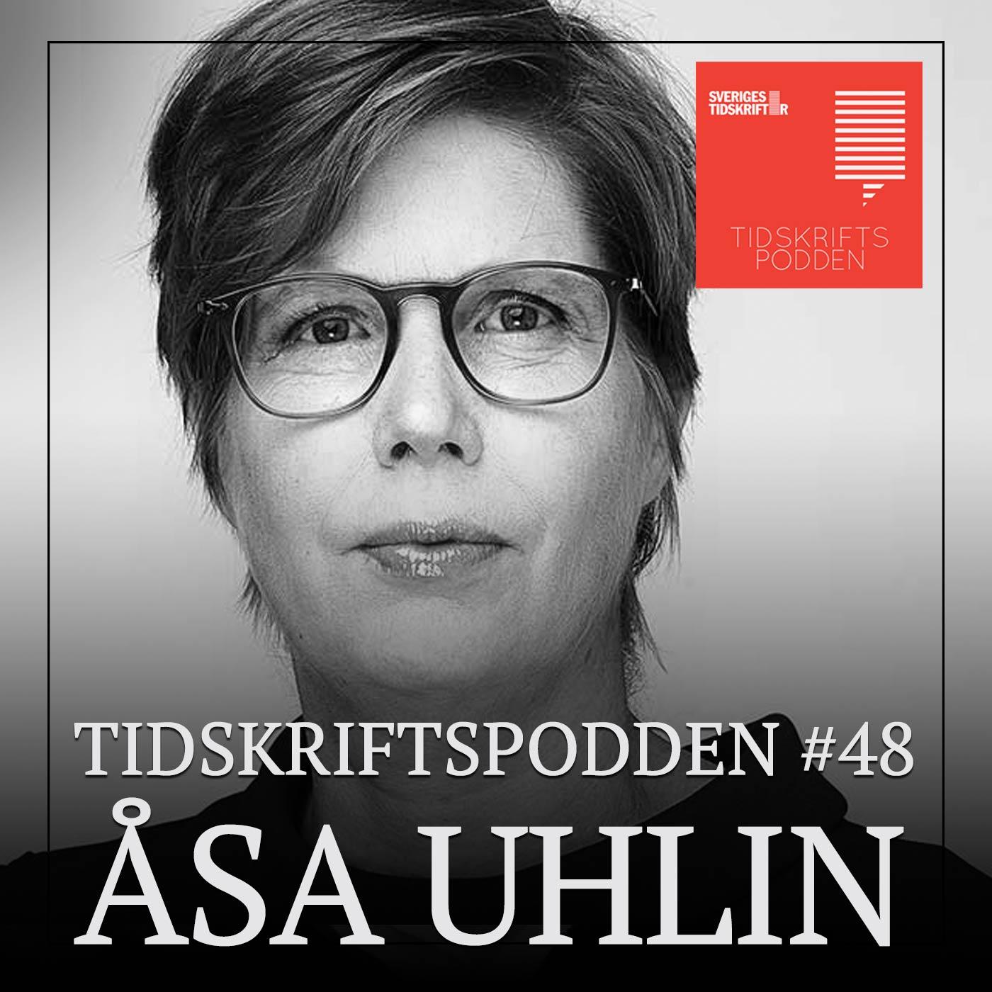 Åsa Uhlin, chefredaktör Veckans Affärer