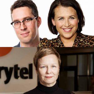 Simon Gooch, Hannah Widell, Annika Steward Jensen