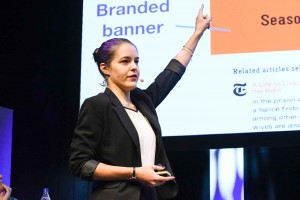 Melanie Deziel, konsult inom branded content och native advertising