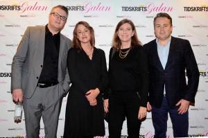 Fredrik Åberg, Cecilia Fritzon, Jennie Bergeryd och Daniel Edström, från undersökningsföretaget RAM.