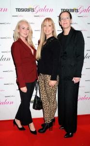 Lisa Segerson, Ros-Marie Söderlund och Cia Jansson, från Elle.