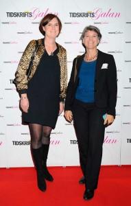 Marie Beck och Ylva Zachrisson, från PP Pension.