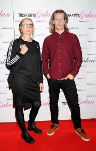 Julia Nilsson och Tor Johnsson, från tidningen Journalisten.