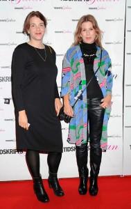 Ebba Bonde och Sofia Curman, från Konstnären.