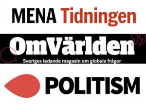 Politism Mena-tidningen OmVärlden