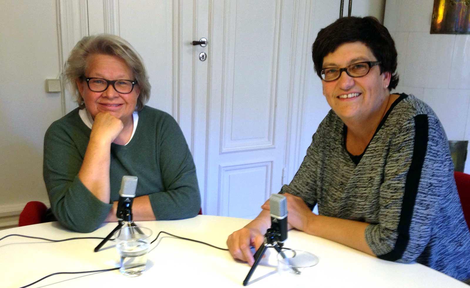 Karin Lennmor och Helle Klein