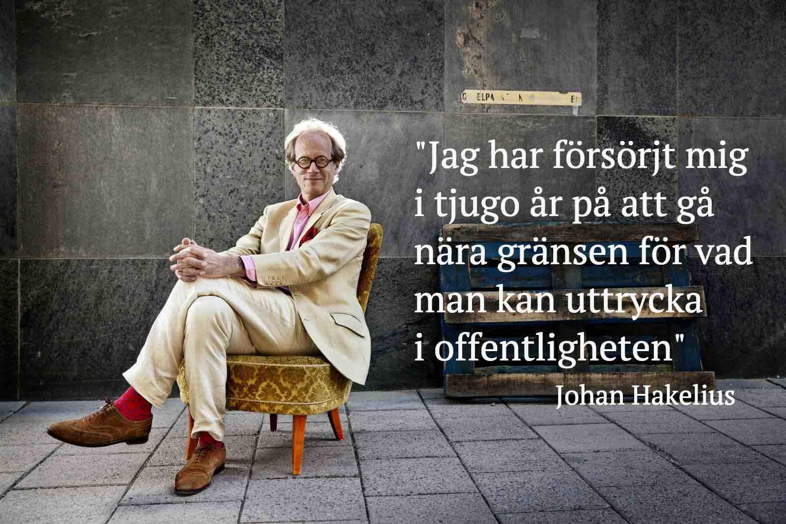 Johan Hakelius, Foto: Jessica Segerberg