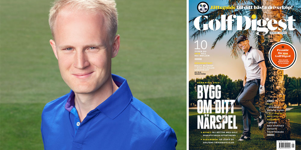 Oskar Åsgård Golf Digest