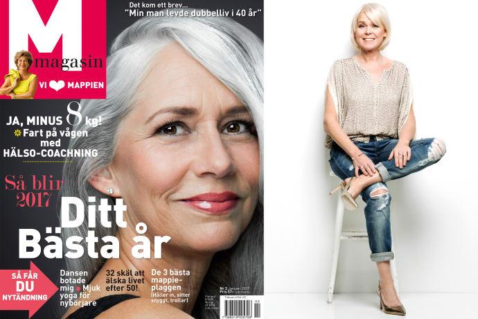 M-magasins chefredaktör Åsa Lundegård.