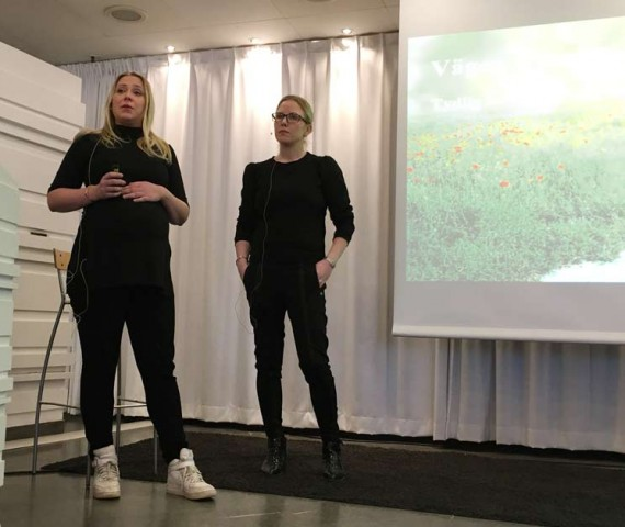 Anna Åberg och Julia Lundmark Trendfrukost 2017