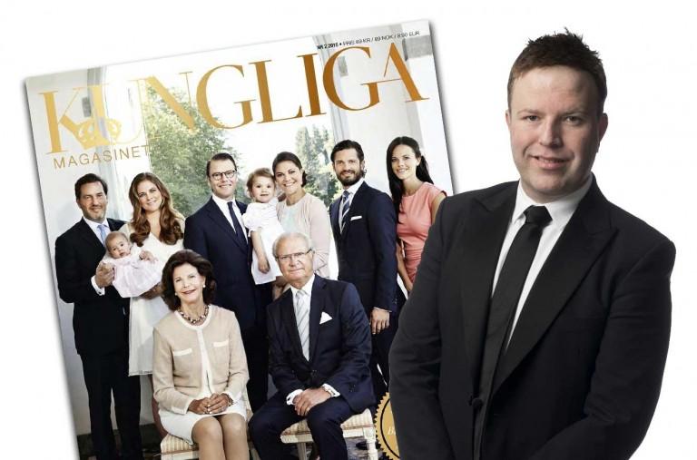Kungliga Magasinets chefredaktör Roger Lundgren.