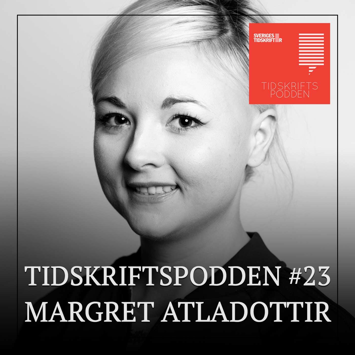 Margret Atladottir, redaktör Politism