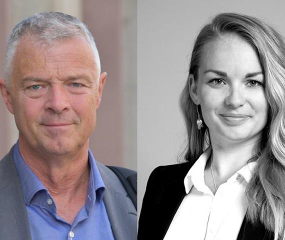 Anders Ahlberg och Engla Eklund