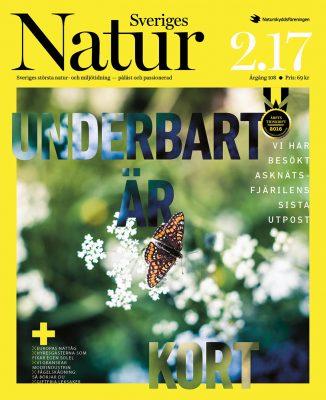 Sveriges Natur omslag