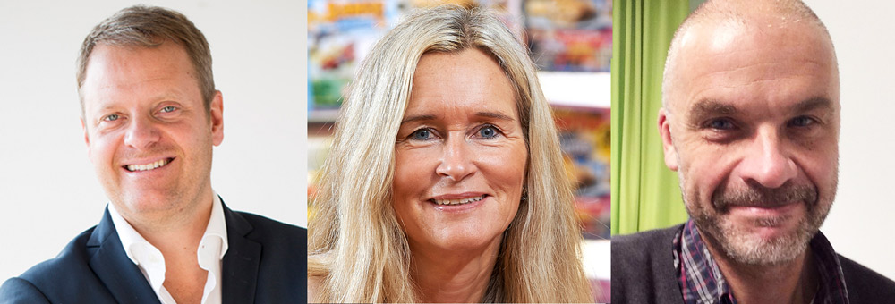 Martin Kroon, Marika Bark, Magnus Bergsten