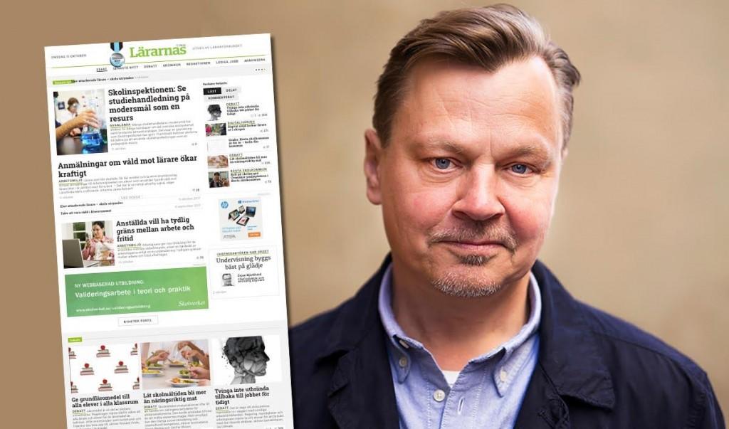 Örjan Björklund, chefredaktör Lärarnas Tidning