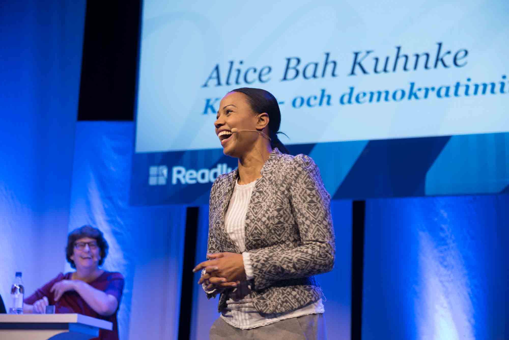 Alica Bah Kuhnke, kultur- och demokratiminister. Foto: Anette Persson