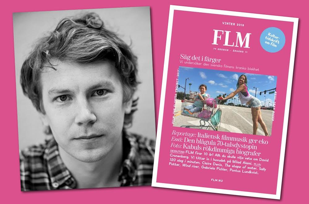 Jacob Lundström chefredaktör FLM