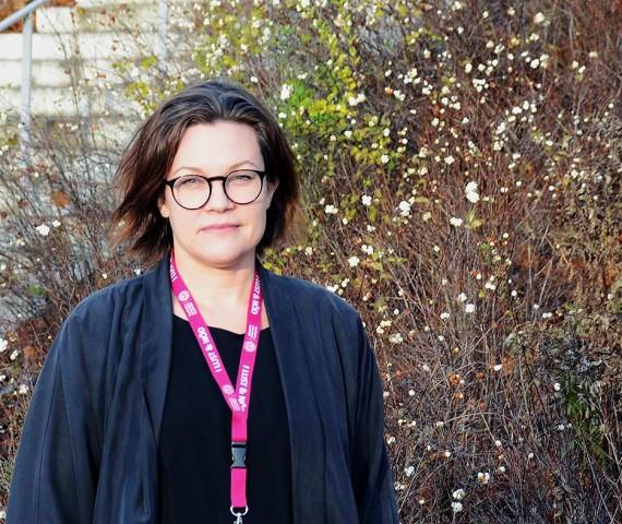 Sara Berg har tidigare jobbat med förändringsarbete på SVT, MTG, Strix och Umeå universitet. Foto: Josefin Malmkvist
