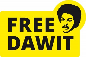 Free Dawit Isaak logotype