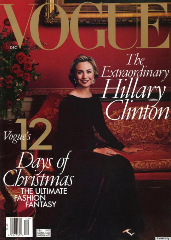 Omslag Vouge Hillary Clinton