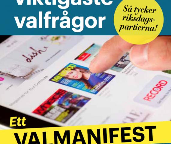 Sveriges Tidskrifters valmanifest