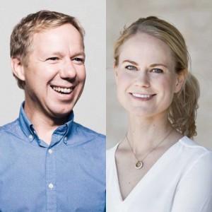 Patrik Hadenius och Camilla Björkman