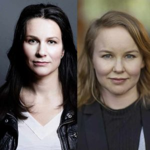 Åsa Erlandsson och Jenny Agö