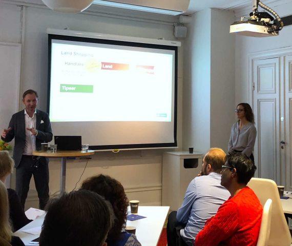 Mikael Bergh, försäljningschef inom läsarintäkter på LRF media och Helena Nimbratt, shoppingredaktör på LRF media, berättade om resan från start till handling.