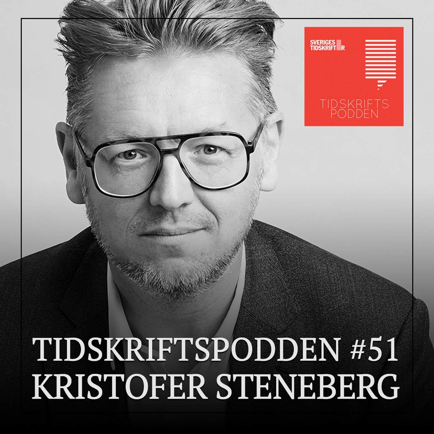 Kristofer Steneberg, chefredaktör Café