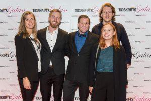 Fokus gick hem som vinnare. De gjorde Årets omslag. Foto: Anette Persson.