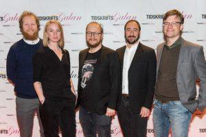 Byrån Äventyret jobbar med flera prisvinnande tidskrifter i branschen. Foto: Anette Persson.