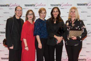 Elle Decoration, vinnare av Årets Tidskriftsevent för sitt event Swedish Design Awards. Foto: Anette Persson.