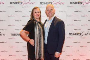 Johan Sjökvist och Anna Lund Jeppson från Hakon Media. Foto: Anette Persson