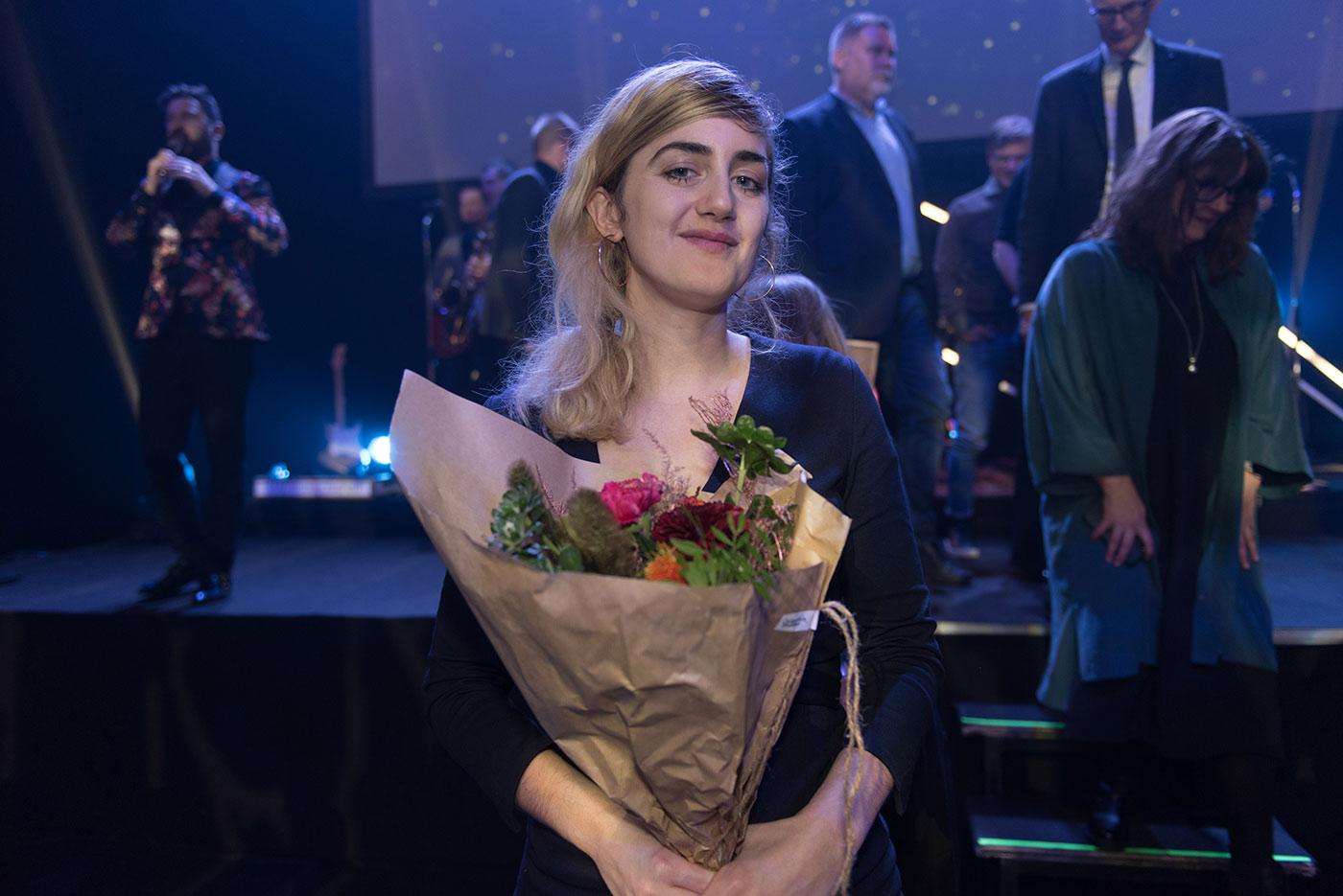 Matilda Gustavsson, Årets Journalist. Foto: Anette Persson