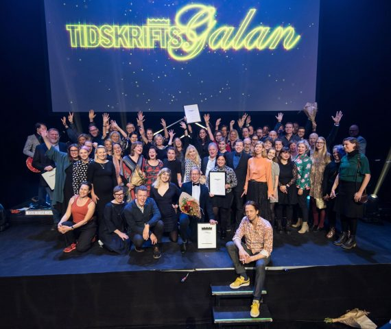 Vinnare Tidskriftspriset 2018 - Foto Anette Persson